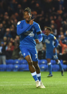 Ivan Toney struck his 19th goal of the season as Peterborough snatched a 1-0 victory at Oxford's Kassam Stadium.