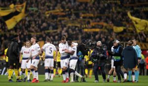 Mauricio Pochettino hailed Tottenham's 'heroes' after his side blew away Borussia Dortmund in the first leg of their Champions League last-16 tie.
