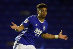 Garry Monk says Birmingham have been contacted by Scotland boss Alex McLeish about a potential call-up for Che Adams.