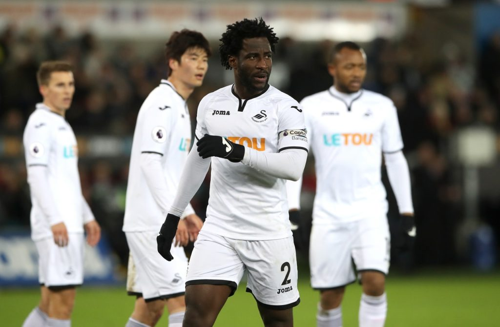 Swansea's Wilfried Bony says speculation linking him with both Galatasaray and Marseille was just January transfer window paper talk.