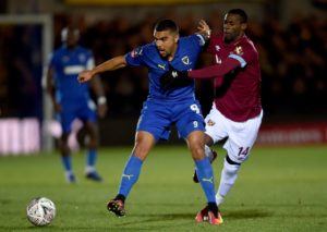 AFC Wimbledon will be without Steve Seddon, Kwesi Appiah and James Hanson against Millwall in the FA Cup.