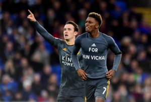 Leicester forward Demarai Gray believes confidence in the squad is high after impressive performances against top-six sides.