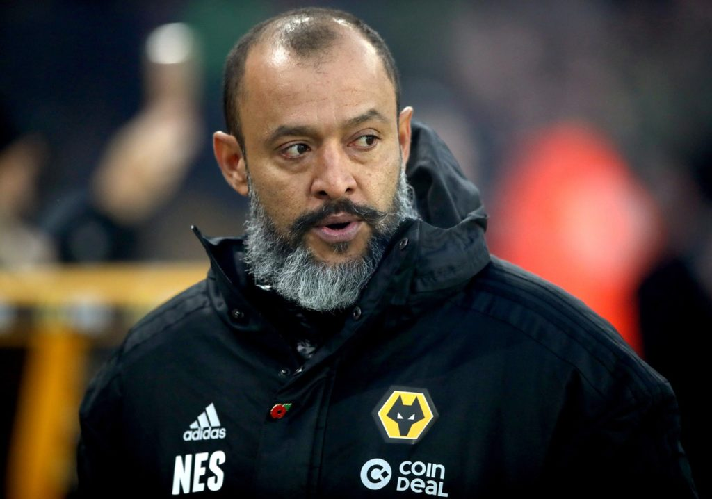 Nuno Espirito Santo will use a number of Under-23s when Wolves play Shrewsbury in Tuesday's FA Cup fourth-round replay.