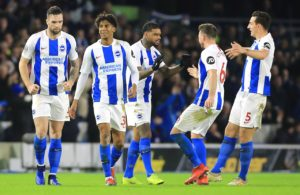 Brighton could be short of forward options for their next match with Chris Hughton admitting Jurgen Locadia looked 'sore' on Saturday.