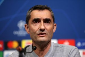 Ernesto Valverde has warned Barcelona have much work to do after being held to a goalless draw against Lyon.