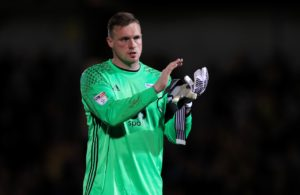 Coventry have signed Birmingham goalkeeper David Stockdale on a seven-day emergency loan.