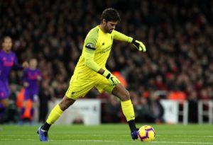 Bayern Munich goalkeeper Manuel Neuer says he is an admirer of Liverpool counterpart Alisson ahead of their meeting in the Champions League.