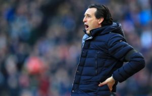 Arsenal boss Unai Emery says his team need to learn to control their temper after their 1-0 Europa League defeat to BATE Borisov.