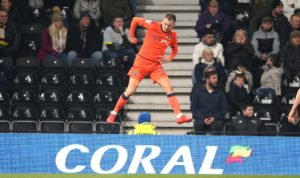 Derby's play-off hopes were dealt a blow as Millwall grabbed a vital 1-0 win at Pride Park.