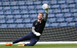 Coventry are waiting on the fitness of goalkeeper Lee Burge before they can decide to extend David Stockdale's emergency loan.