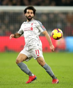 Liverpool star Mohamed Salah insists his side are taking each game in their stride and are dealing with the pressure of the title race.