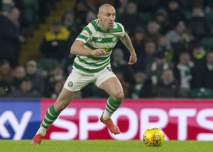 Skipper Scott Brown hit out at the Celtic Park pitch after enjoying the Mestalla's playing surface during the Europa League defeat by Valencia.