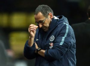 Maurizio Sarri has expressed hope, rather than conviction, that Chelsea will be at their best at Manchester City on Sunday.