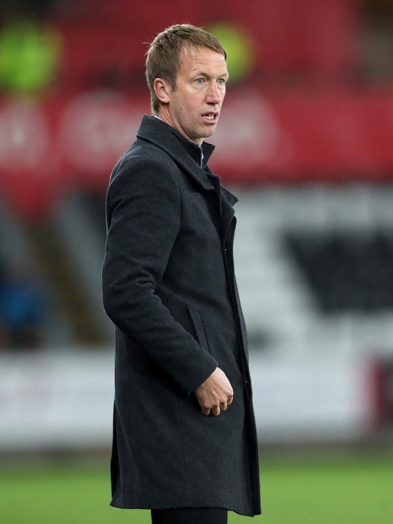 Swansea manager Graham Potter has challenged his squad to rise to occasion when they travel to Leeds on Wednesday.
