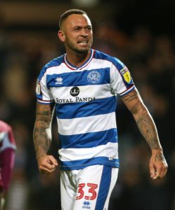 Joel Lynch is a doubt for QPR's FA Cup tie with Watford.