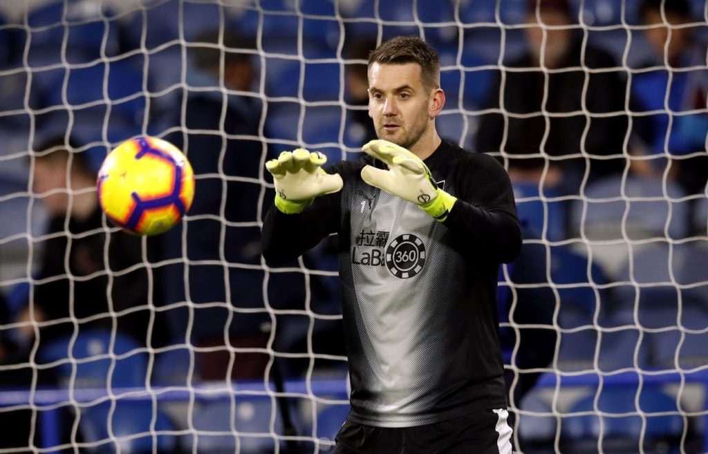 Tom Heaton says Burnley are well aware there is still 'a long way to go' as they continue to battle for Premier League survival.
