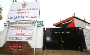 Stevenage hope to open the new north stand at Lamex Stadium in the summer after confirming construction work will resume later this month.