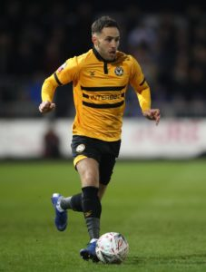 Newport's FA Cup hero Robbie Willmott has signed a new contract to stay at the club until 2021.