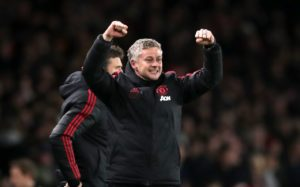 Ole Gunnar Solskjaer praised his Manchester United players for bouncing back with a 2-0 FA Cup win at Chelsea last night.