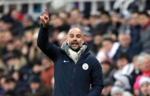 Manchester City boss Pep Guardiola believes today's clash with Chelsea will prove whether or not his side are back in the title race.