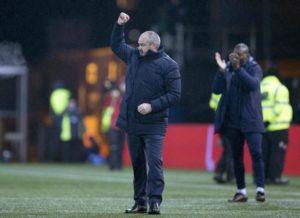 Kilmarnock boss Steve Clarke insistsCeltic remain the benchmark in Scottish football ahead of their Ladbrokes Premiership clash at Rugby Park on Sunday.