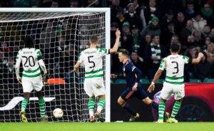 Celtic will need to produce some magic in the Mestalla Stadium next weekfollowing their 2-0 Europa League defeat by Valencia at Parkhead.
