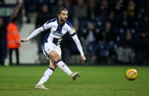 Jay Rodriguez's controversial late penalty rescued a point for West Brom against Nottingham Forest.