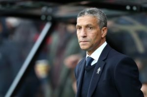 Chris Hughton says Brighton cannot afford to rely on other teams slipping up as they bid to stay clear of the drop zone.