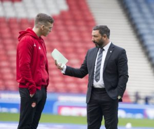 Derek McInnes insists Aberdeen are in no panic over Lewis Ferguson's contract situation.