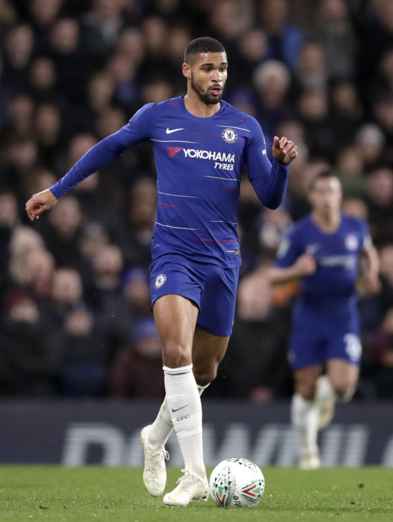 Chelsea midfielder Ruben Loftus-Cheek could be available for Monday's FA Cup fifth-round clash at home to Manchester United.