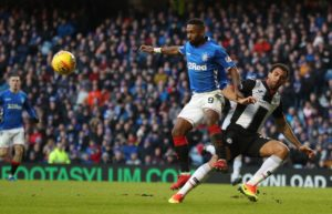 Rangers boss Steven Gerrard told Steve Clarke to mind his own business on Jermain Defoe before the Ibrox striker learned he would face no ban for diving.