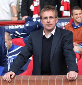 Ralf Rangnick admitted RB Leipzig were far from at their best but was pleased with how his side dug in to beat Stuttgart on Saturday.