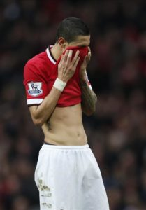 Angel Di Maria has revealed how a row with Louis van Gaal was the reason why his time at Manchester United turned sour.