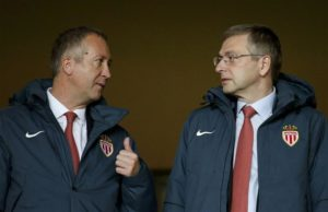 Ligue 1 club Monaco have sacked vice-president and general manager Vadim Vasilyev after a shocking first half of the campaign.