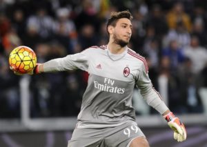 AC Milan are believed to be considering offering goalkeeper Gianluigi Donnarumma a new contract with an increased release clause.