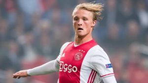 Southampton have been watching Kasper Dolberg over recent weeks and reports claim they are lining up a move for the Ajax star.