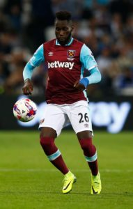 West Ham are ready to offload defender Arthur Masuaku in the summer if they can find a buyer for the left-back.