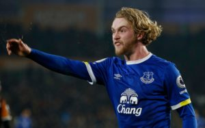 Everton midfielder Tom Davies says he is extremely proud to be handed the armband at Everton and wants to keep the job for as long as possible.