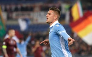 Lazio have confirmed that Sergej Milinkovic-Savic is facing a spell out of action because of a thigh injury he suffered on Thursday.