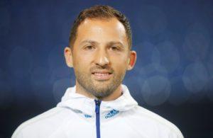 Schalke coach Domenico Tedesco has played down expections over Rabbi Matondo as he prepares to face Manchester City.