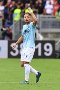 Lazio coach Simone Inzaghi has revealed Ciro Immobile wants to face Sevilla in the Europa League but his fitness won't be risked.