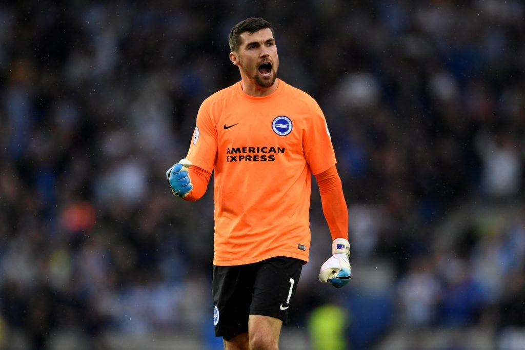 Brighton goalkeeper Maty Ryan wants to see a reaction when they travel to Leicester in their next league outing.