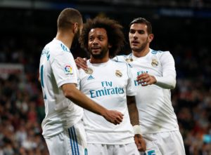 Real Madrid star Marcelo has dismissed speculation linking him with a switch to Juventus and says he is happy at the Bernabeu.