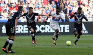 Lyon's Bertrand Traore says he was proud of his side despite seeing them miss several chances in the 0-0 draw with Barcelona.