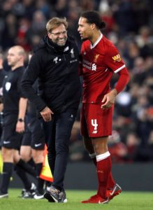 Virgil van Dijk says straight-talking Jurgen Klopp gets the best out of him, describing the Liverpool boss as a 'fantastic coach'.