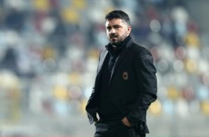 Gennaro Gattuso says he would be happy for AC Milan to finish fourth this season even if that means Inter Milan claim third place.