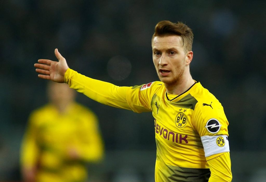 Borussia Dortmund are set to be without Marco Reus when they take on Tottenham in the Champions League on Wednesday night.
