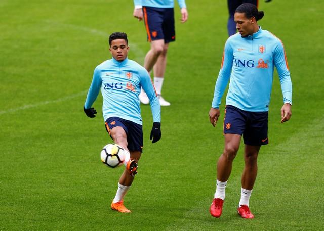 Roma forward Justin Kluivert admits he is loving life at the club following his move from Ajax in the summer.