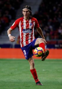 Barcelona are reportedly eager to sign Atletico Madrid left-back Filipe Luis in the summer transfer window.