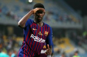 Ousmane Dembele has warned his Barcelona side they must be wary of Lyon's threats all over the pitch ahead of Tuesday's showdown.